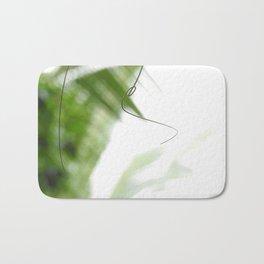 Peaceful green shades of graceful nature Bath Mat