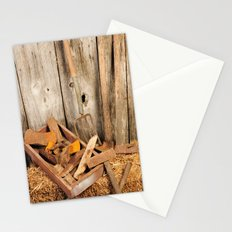 Rusted tools Stationery Cards