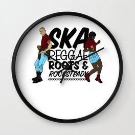 Trojan Skinhead Reggae print - Ska, Roots & Rocksteady Wall Clock