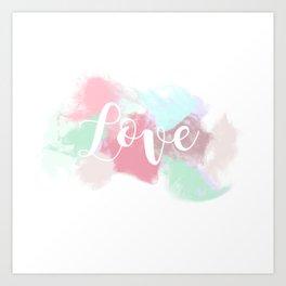 Valentine's Day - Fume Love Art Print