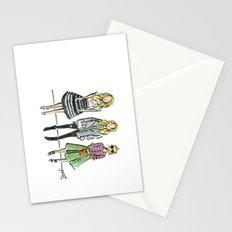 Fashion Illo Trio Stationery Cards