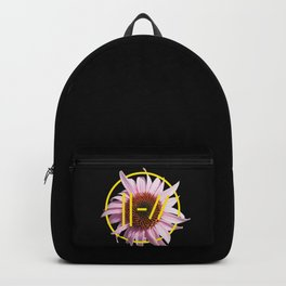 Trench Pink Flower Backpack