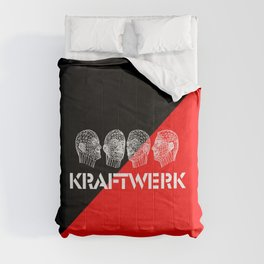Kraftwerk computer heads Comforters