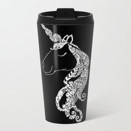 The Ivory Unicorn Metal Travel Mug