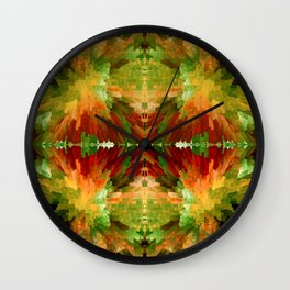 Reflections by four Wall Clock