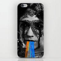 sylvia plath iPhone & iPod Skins featuring Sylvia II by DIVIDUS