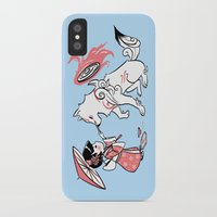 okami iPhone & iPod Cases featuring Painting with Okami by Miski