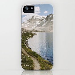 High Sierra Lake iPhone Case