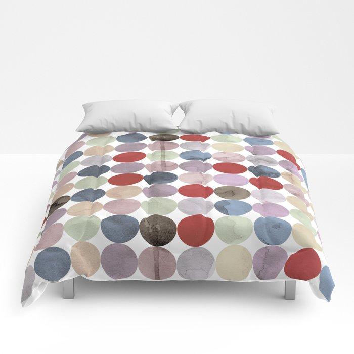 Winter Polka Dots Comforters