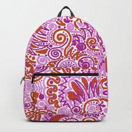 Pink + Orange = YES Backpack