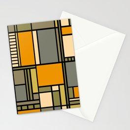 Frank Lloyd Wright Inspired Art Stationery Cards