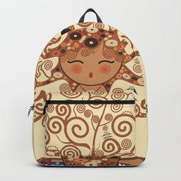 Kokeshi Tree of life Backpack