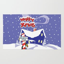 Christmas in North Pole Rug