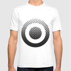 quant Mens Fitted Tee White SMALL