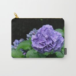 Purple Mountain Hydrangea Carry-All Pouch