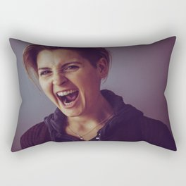 This is My Rage Face Rectangular Pillow