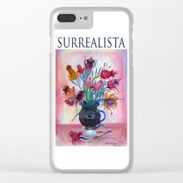 Surrealista. Clear iPhone Case