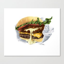Shack Stack Hot Spring Canvas Print