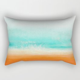 Waves and memories 02 Rectangular Pillow