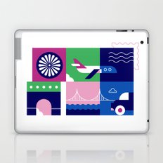 Travel by Plane Laptop & iPad Skin