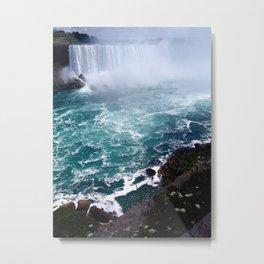 Niagra Falls Metal Print