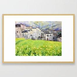 Jiang Nan Framed Art Print