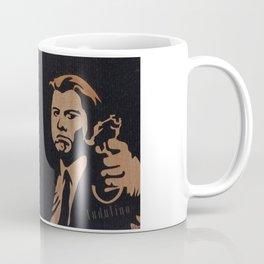 Pulp fiction movie marquetry art Coffee Mug