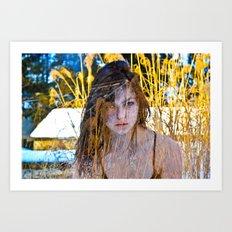 zane1color  Art Print