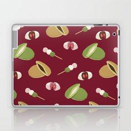 Japanese sweets (Burgundy) Laptop & iPad Skin
