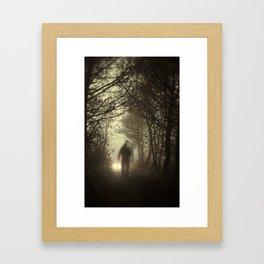 Toward the light Framed Art Print