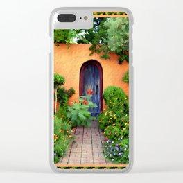 Garden Delights, Mesilla, NM Clear iPhone Case