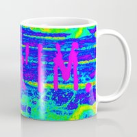 swim Mugs featuring SWIM. by TMCdesigns