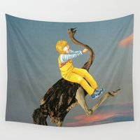 napoleon Wall Tapestries featuring Blonde Kid by Lerson