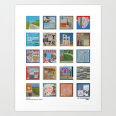 Travel - Selections from the 2011 Project Art Print