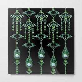 CASTELLINA JEWELS: BLUE GREEN DREAM Metal Print