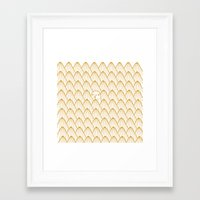 donut Framed Art Prints featuring Donut by Jarvis Glasses