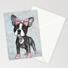 Sweet Frenchie Stationery Cards