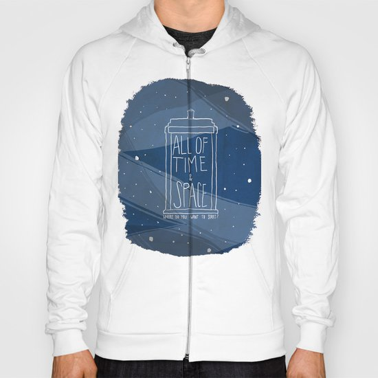 All Of Time And Space Hoody