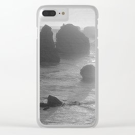 Sunset over the Twelve Apostles Clear iPhone Case