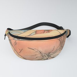 Alphonse Mucha - Allegory of Painting (1898) Fanny Pack