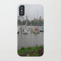 boats iPhone & iPod Cases featuring Boats by Skye Rao