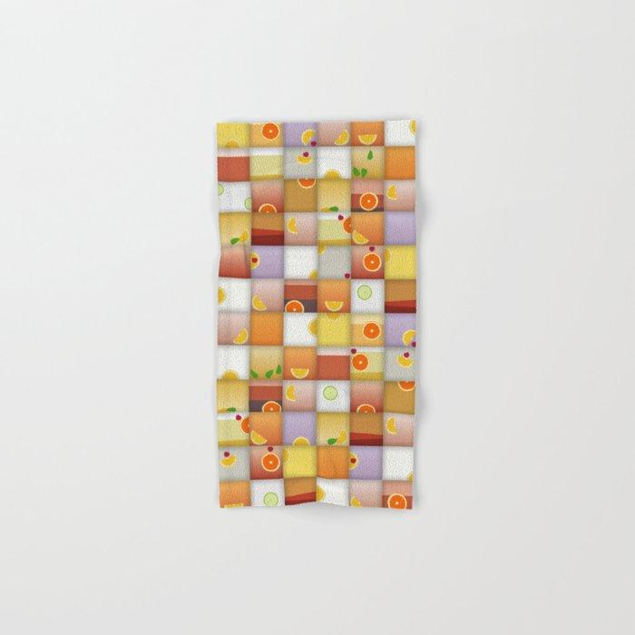 cocktail squares Hand & Bath Towel