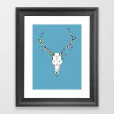 Skull Duggery Framed Art Print