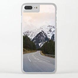 Austrian Road Clear iPhone Case