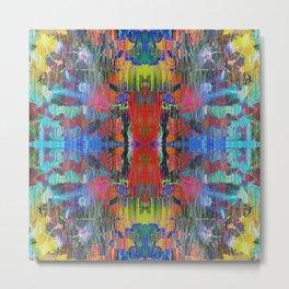 Mandala Kaleidoscope 513 Metal Print