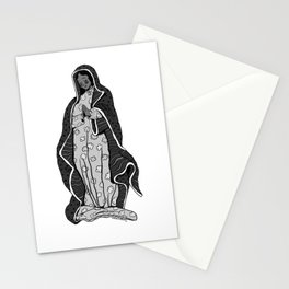 Our Lady of Guadalupe (B&W) Stationery Cards