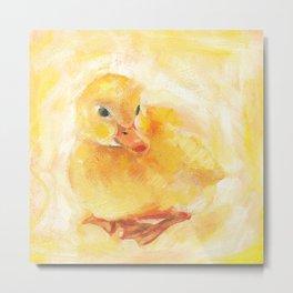 Duckling Art Print Metal Print