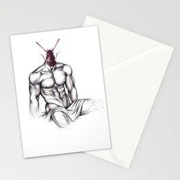 LADYBOY - drawing by Davy Oldenburg Stationery Cards