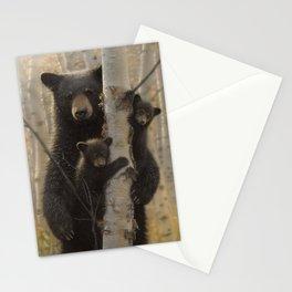 Black Bear Cubs - Mama Bear Stationery Cards