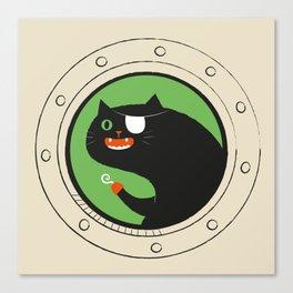 Pirate Cat Canvas Print